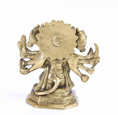 MohanJodero Brass Lord Panchmukhi Hanuman Statue