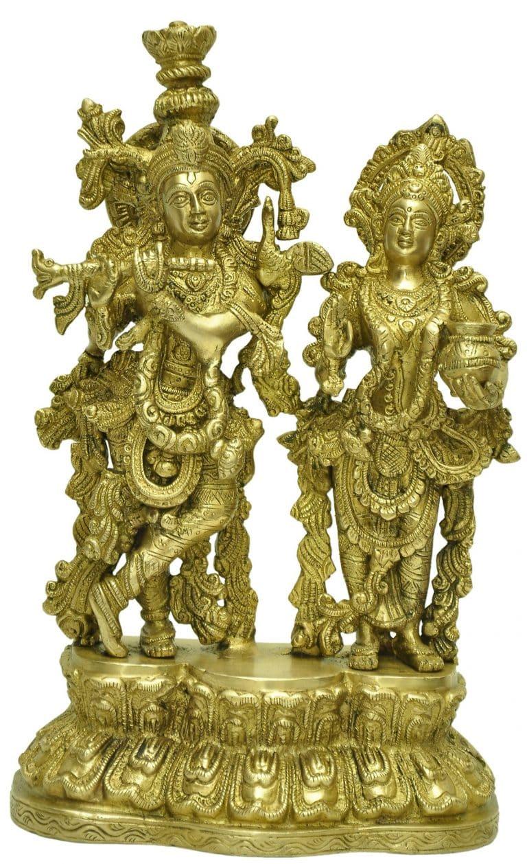 Brass-radha-krishna-idol